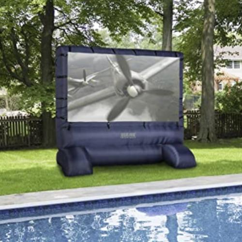 12 foot outdoor movie screen rental nt ny