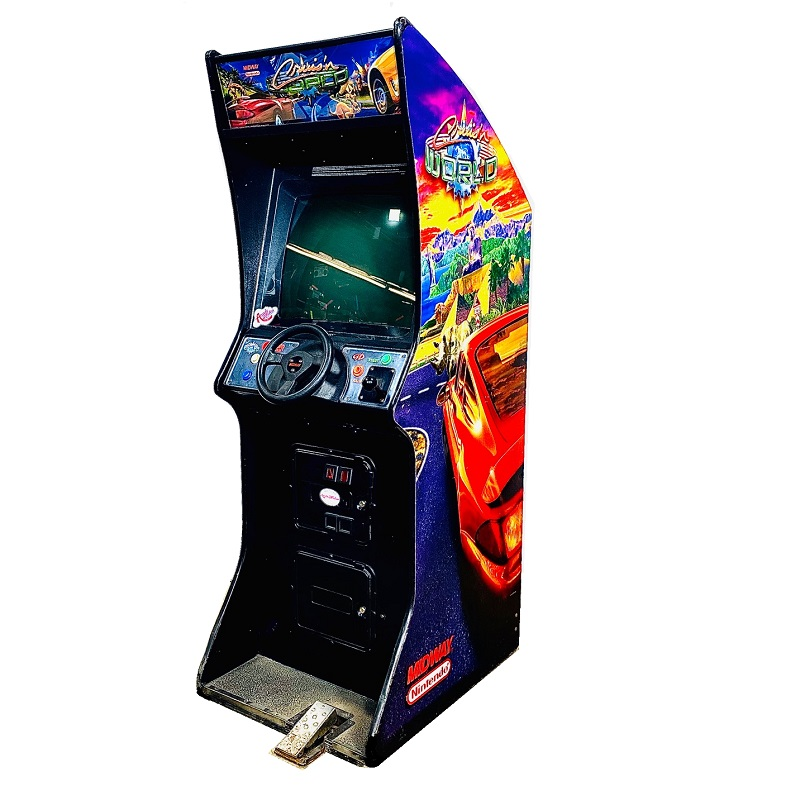 CRUISIN WORLD VIDEO ARCADE GAME RENTALS NEW YORK 1