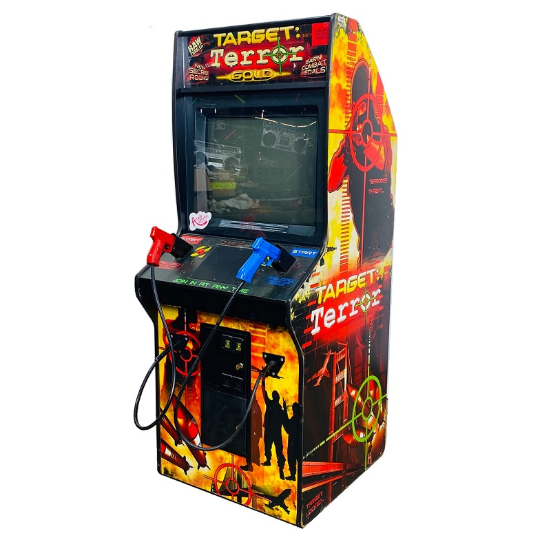 target terror video arcade game rental NYC