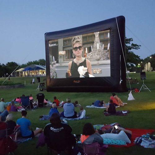 22 foot screen outdoor movie rentals ct