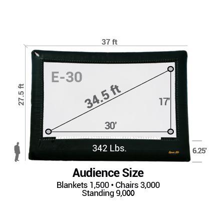 35 foot movie screen rental ct