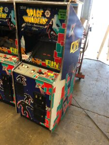 space invaders qix arcade for sale