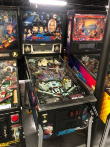 star trek vintage pinball for sale