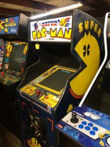 super pacman arcade vintage sale