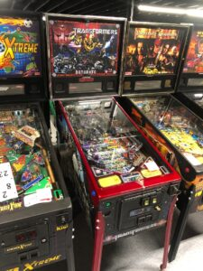 transformers pinball for sale